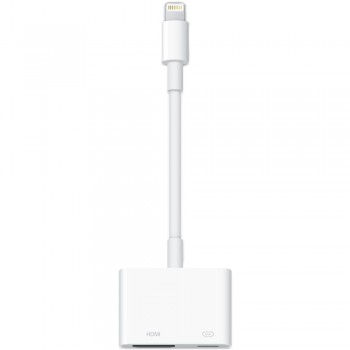 Адаптер-переходник Apple Lightning to Digital AV Adapter Lightning - HDMI White для Apple iPhone/iPad/iPod